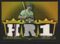 Mickey Mantle 2007 Topps Triple Threads Relics Gold #40 at PristineAuction.com