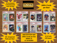 ICON AUTHENTIC  400X MYSTERY BOX SERIES 15 - (400+ Cards per Box) at PristineAuction.com