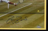 Roger Federer Signed LE 22x26 Custom Framed Photo Display (Steiner COA) at PristineAuction.com