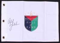 Phil Mickelson Signed World Golf Hall of Fame Pin Flag (JSA COA) at PristineAuction.com