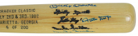 Mickey Mantle, Willie Mays & Duke Snider Signed LE Louisville Slugger Baseball Bat (JSA LOA) at PristineAuction.com