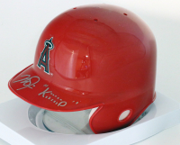 "Mike Trout Signed LE Angels Mini-Helmet Inscribed ""KiiiiiD"" (MLB Hologram) at PristineAuction.com"