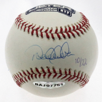 Derek Jeter Signed LE 2000 World Series MVP Logo Baseball (UDA COA, Steiner COA & MLB Hologram) at PristineAuction.com
