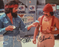 "Tommy Chong & Cheech Marin Signed ""Up in Smoke"" 8x10 Photo (Beckett COA) at PristineAuction.com"