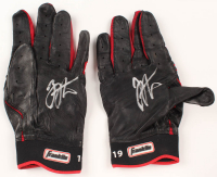 Joey Votto Signed Pair of Franklin Baseball Batting Gloves (Beckett COA) at PristineAuction.com