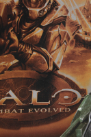 """Steve Downes Signed """"Halo"""" 22.5x34 Poster Inscribed """"Master Chief"""" & """"I Need A Weapon"""" (Radtke Hologram) at PristineAuction.com"""