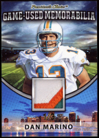 Dan Marino 2018 President's Choice Game-Used Memorabilia Jersey Swatch at PristineAuction.com