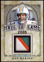Dan Marino 2017 President's Choice - Hall of Fame - Game-Used Jersey Swatch at PristineAuction.com