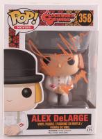 "Malcolm McDowell Signed ""A Clockwork Orange"" #358 Alex DeLarge Funko Pop Vinyl Figure Inscribed ""Alex"" (Beckett COA) at PristineAuction.com"