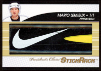 Mario Lemieux 2017 President's Choice - StickRack - Game-Used Hockey Stick Piece at PristineAuction.com