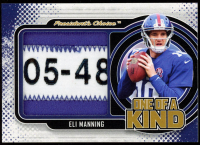 Eli Manning 2017 President's Choice - One of a Kind - Game-Used Jersey Swatch at PristineAuction.com