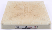 2013 Yankees vs Red Sox Logo Game-Used Third Base (MLB Hologram & Steiner LOA) at PristineAuction.com