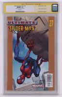"Art Thibert Signed 2002 ""Ultimate Spider-Man"" Issue #27 Marvel Comic Book (CGC Encapsulated - Graded 9.8) at PristineAuction.com"