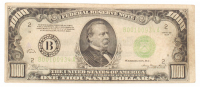 1934-B $1,000 One-Thousand Dollar Federal Reserve Note at PristineAuction.com