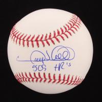 "Gary Sheffield Signed OML Baseball Inscribed ""509 HR's"" (PSA COA) at PristineAuction.com"