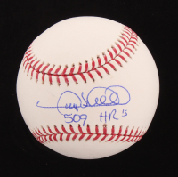 "Gary Sheffield Signed OML Baseball Inscribed ""509 HR's"" (PSA COA) at PristineAuction.com"