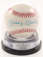 Mickey Mantle & Willie Mays Signed OAL Baseball (BGS Encapsulated & PSA LOA) at PristineAuction.com