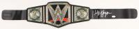 Hulk Hogan Signed WWE World Heavyweight Wrestling Championship Belt (JSA COA) at PristineAuction.com