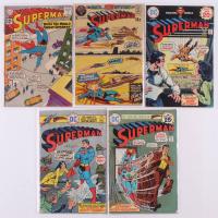 Lot of (5) 1961-1975 Superman DC Comic Books at PristineAuction.com