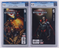 Lot of (2) CGC Graded 9.8 2006 Ultimate Spider-Man Marvel Comic Books with #94 & #95 at PristineAuction.com