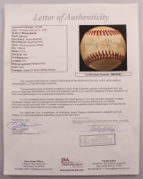 Mickey Mantle Signed OAL Baseball with Golden Glove Display Case (JSA LOA) at PristineAuction.com