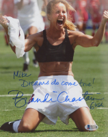 "Brandi Chastain Signed Team USA 8x10 Photo Inscribed ""Dreams Do Come True!"" & ""USA"" (Beckett COA) at PristineAuction.com"