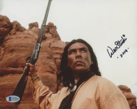 """Wes Studi Signed """"Geronimo: An American Legend"""" 8x10 Photo Inscribed """"2019"""" (Beckett COA) at PristineAuction.com"""