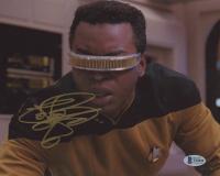 "LeVar Burton Signed ""Star Trek: The Next Generation"" 8x10 Photo (Beckett COA) at PristineAuction.com"