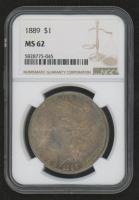 1889 Morgan Silver Dollar (NGC MS62) at PristineAuction.com