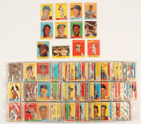 1958 Topps Complete Set of (495) Baseball Cards with #1 Ted Williams, #47 Roger Maris RC, #52A Roberto Clemente, #150 Mickey Mantle at PristineAuction.com
