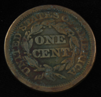 1848 Braided Hair Large One Cent at PristineAuction.com