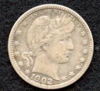 1902-O Barber Quarter Dollar at PristineAuction.com