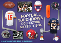Schwartz Sports Football TOUCHDOWN Mystery Box - Series 5 (Limited to 75) (6+ Autograph Items per Box) at PristineAuction.com