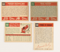 1959 Topps Complete Set of (572) Baseball Cards with #10 Mickey Mantle, #50 Willie Mays, #202 Roger Maris, #163 Sandy Koufax, #380 Hank Aaron, #478 Roberto Clemente at PristineAuction.com