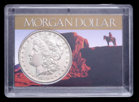 1880-O Morgan Silver Dollar with Western Holder at PristineAuction.com