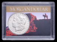 1889 Morgan Silver Dollar with Western Holder at PristineAuction.com