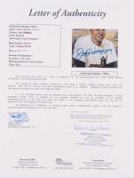 Joe DiMaggio Signed 1991 Beckett Baseball Card Monthly Magazine (JSA LOA) at PristineAuction.com