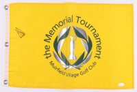 Ernie Els Signed Muirfield Village Memorial Tournament Golf Pin Flag (JSA COA) at PristineAuction.com