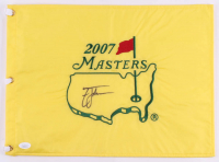 Zach Johnson Signed 2007 Masters Golf Pin Flag (JSA COA) at PristineAuction.com