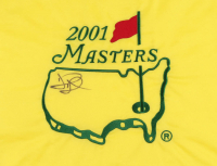 David Duval Signed 2001 Masters Golf Pin Flag (JSA COA) at PristineAuction.com