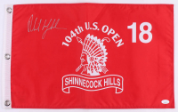 Phil Mickelson Signed Shinecock Hills 104th U.S. Open Golf Pin Flag (JSA COA) at PristineAuction.com