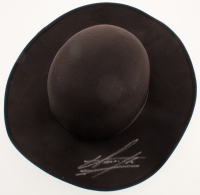 The Undertaker Signed Wide Brim Open Crown Hat (PSA Hologram) at PristineAuction.com