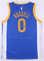D'Angelo Russell Signed Warriors Jersey (PSA COA) at PristineAuction.com