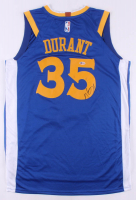 Kevin Durant Signed Warriors Jersey (Beckett COA) at PristineAuction.com