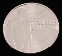 1 Ounce .999 Fine Silver 2020 Trump Bullion Round at PristineAuction.com