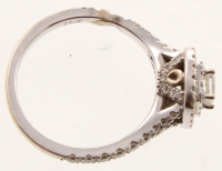 0.76ct Diamond Engagement Ring 14kt White Gold (AIG Appraisal) at PristineAuction.com