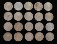 Lot of (20) Peace Silver Dollars at PristineAuction.com