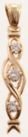 0.55ct Diamond Pendant 14kt Yellow Gold (AIG Appraisal) at PristineAuction.com