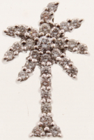 0.63ct Diamond Pendant 18kt White Gold (AIG Appraisal) at PristineAuction.com