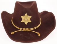"""Andrew Lincoln Signed """"The Walking Dead"""" Sheriff Hat (PSA LOA) at PristineAuction.com"""